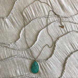 Chloe & Isabel turquoise pendant necklace